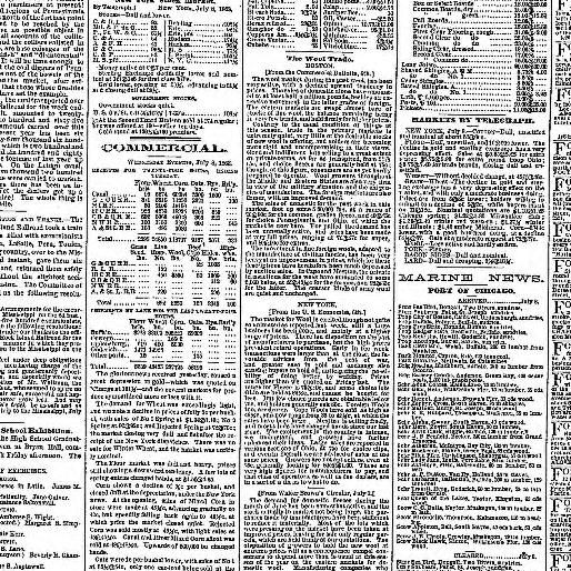 Chicago Daily Tribune Volume Ill 1860 1864 July 09