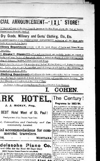 The Billings herald  (Billings, Mont ) 1882-1885, November 17, 1883