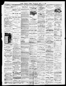 Cairo evening times  (Cairo, Ill ) 1865-1866, September 14, 1865