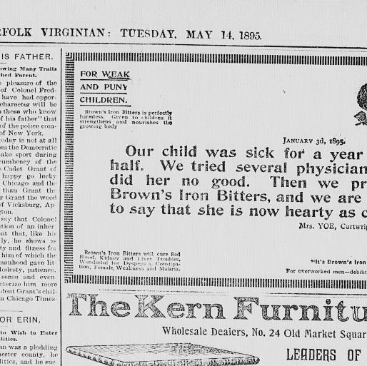 The Norfolk Virginian. (Norfolk, Va.) 186?-189?, May 14, 1895, Page ...