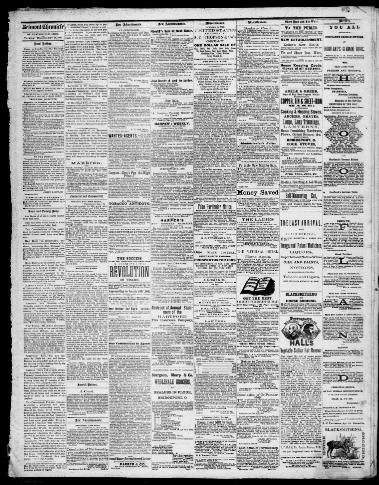 Belmont chronicle  (St  Clairsville, Ohio) 1855-1973