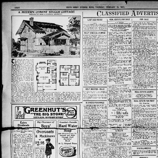 fd28336a983 Perth Amboy evening news., February 15, 1917, LAST EDITION, Page 8, Image  8. About Perth Amboy evening news. (Perth Amboy, N.J.) 1903-1959