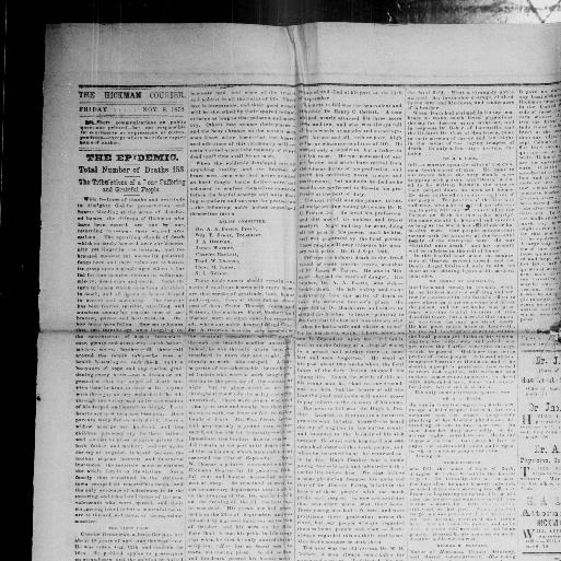 The Hickman courier  (Hickman, Ky ) 1859-current, September 13, 1878