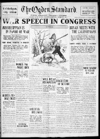 Thumbnail for the Apr. 28, 1913 edition of the The Ogden Standard