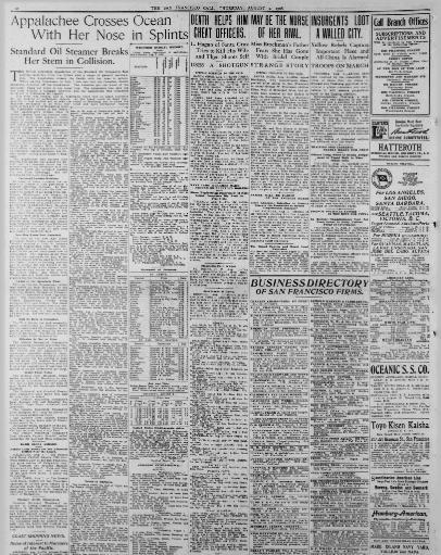 The San Francisco call  (San Francisco [Calif ]) 1895-1913