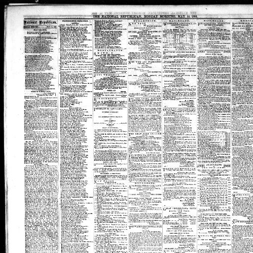 The national Republican  (Washington City [D C ]) 1866-1870, May 14