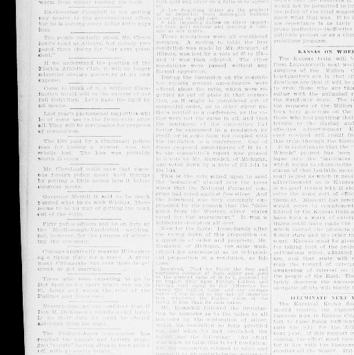 Kansas City daily journal  (Kansas City, Mo ) 1892-1897