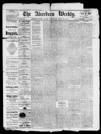 Thumbnail for the Nov. 8, 1878 edition of the The Aberdeen Weekly