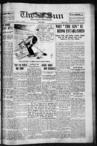 Thumbnail for the Jun. 4, 1915 edition of the The Sun