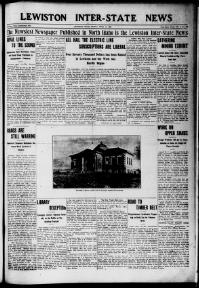 Thumbnail for the Apr. 14, 1905 edition of the Lewiston Inter-State News