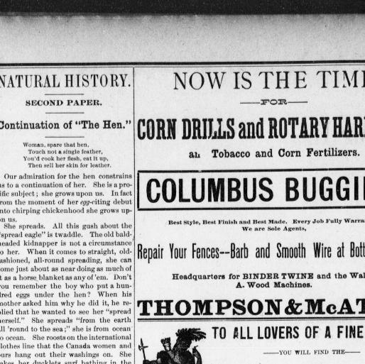 The evening bulletin maysville ky 1887 1905 april 11 1891 image 2 chronicling america library of congress