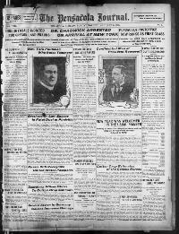 Thumbnail for the Jan. 1, 1905 edition of the The Pensacola Journal