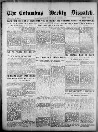 Thumbnail for the Aug. 31, 1905 edition of the The Columbus Dispatch