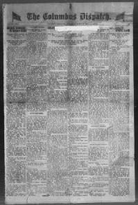 Thumbnail for the Mar. 19, 1919 edition of the The Columbus Dispatch