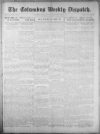 Thumbnail for the Feb. 20, 1908 edition of the The Columbus Weekly Dispatch