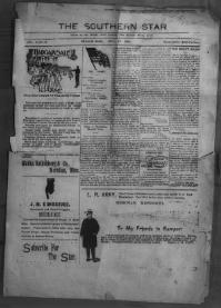 Thumbnail for the Oct. 24, 1900 edition of the The Southern Star