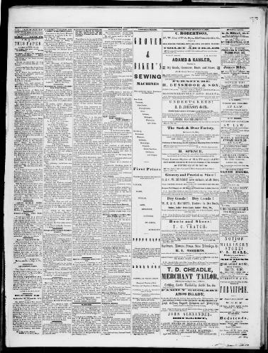South-eastern Independent  (McConnelsville, Ohio) 1871-1871