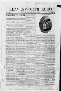 Thumbnail for the Jan. 29, 1904 edition of the The Leavenworth Echo