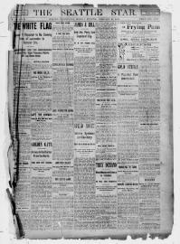 Thumbnail for the Feb. 27, 1899 edition of the The Seattle Star