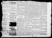 Thumbnail for the Feb. 11, 1885 edition of the The Home Advocate