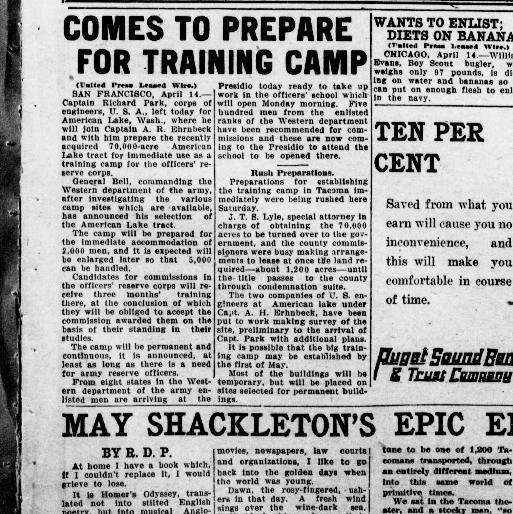 The Tacoma times  (Tacoma, Wash ) 1903-1949, April 14, 1917, Image 1