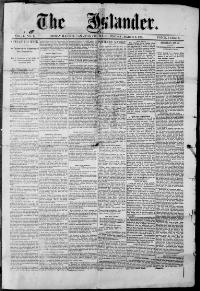Thumbnail for the Mar. 6, 1891 edition of the The Islander