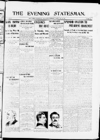 Thumbnail for the May 26, 1903 edition of the The Evening Statesman