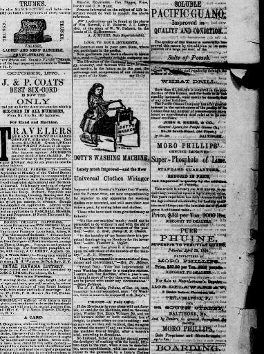 Port Tobacco Times And Charles County Advertiser Port Tobacco Md