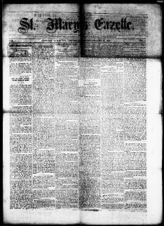 37dde202b St. Mary's gazette., December 10, 1863, Image 1. About St. Mary's gazette.  (Leonard Town, Md.) 1863-1867