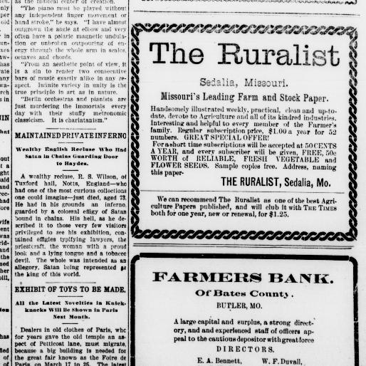The Butler weekly times. (Butler, Mo.) 1881-1918, May 12, 1904 ...