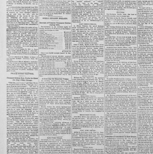 St  Paul daily globe  (Saint Paul, Minn ) 1884-1896