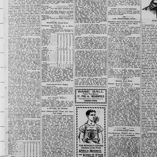The Saint Paul globe  (St  Paul, Minn ) 1896-1905, September