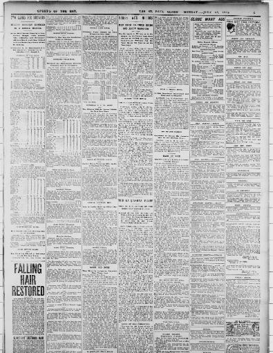 The Saint Paul Globe St Paul Minn 1896 1905 July 18 1898