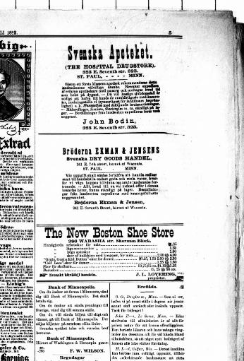 8f9dcfb5 Skaffaren och Minnesota stats tidning. (St. Paul, Minn. ;) 1882-1885, July  05, 1882, Image 5 « Chronicling America « Library of Congress