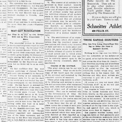 The St. Joseph observer. (St. Joseph, Mo.) 1906-1932, July 06, 1918 Bad Cat E Wiring Harness on