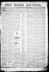 Thumbnail for the Sept. 23, 1858 edition of the The Home Journal