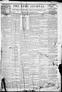 Thumbnail for the Jan.22, 1857 edition of the The Home Journal