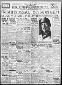 Thumbnail for the Oct.22, 1918 edition of the The News Scimitar